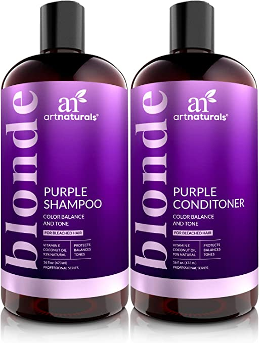 Artnaturals Purple Shampoo And Conditioner Set 2 X 16 Fl Oz