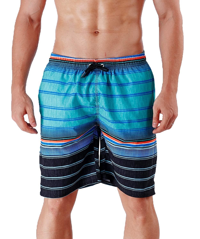 5e17c1b144 MILANKERR Men's Swim Trunks Beach Shorts Blue: Amazon.ca: Clothing &  Accessories