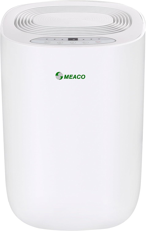 Blanc,12L Meaco MeacoDry ABC D/éshumidificateur 12LW 165 W 240 V
