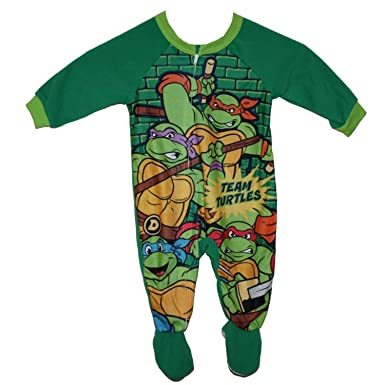 Teenage Mutant Ninja Turtles Boy Sleeper Blanket Pajama Size S 6//7