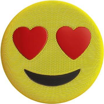 HUGMO Heart Emoji Wireless Bluetooth Speaker