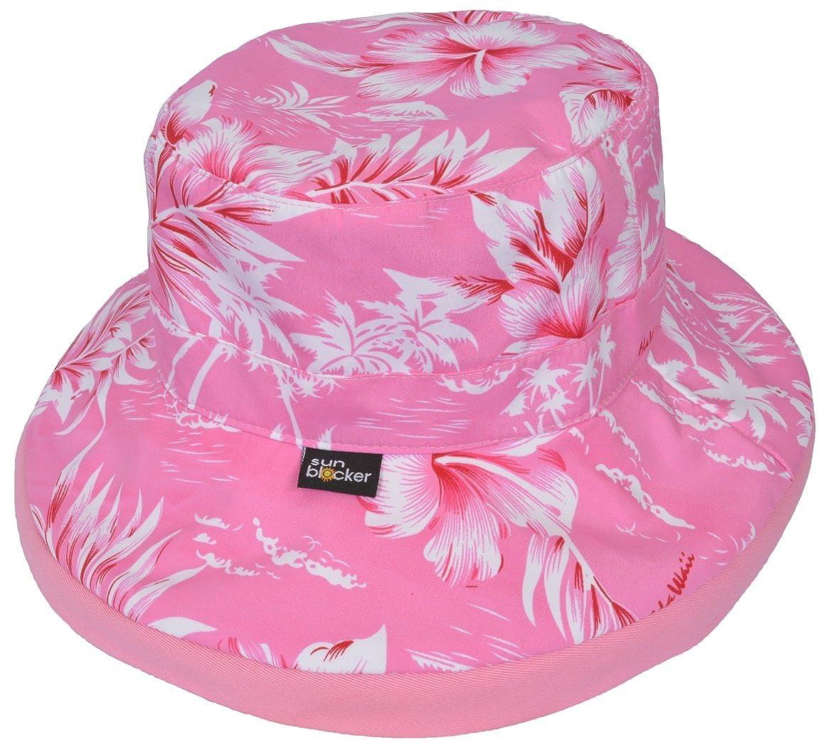 Sun Blocker Womens Sun Hat Large Brim Beach Travel Fishing Hat with Neck Flap