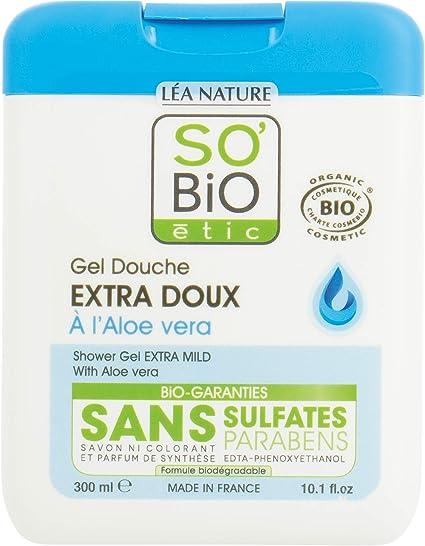 So Bio étic Gel Ducha extra-doux con Aloe Vera – – Juego de 2 ...