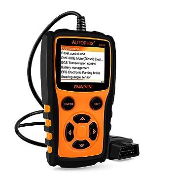 Autophix Escáner de códigos OBDII/EOBD, herramienta de diagnóstico: Amazon.es: Coche y moto