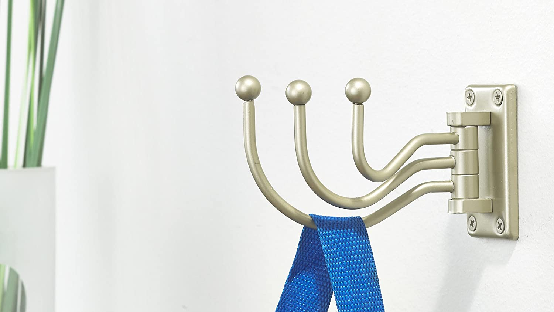 Matte Nickel Finish Richelieu Hardware BP99842184 Utility Swivel Hook