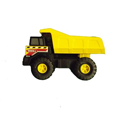 Tonka Classics Steel Might Dump Truck - (Large 16.5 Long): Toys & Games