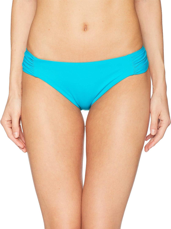 f96cd15774 Amazon.com  Becca by Rebecca Virtue Women s Color Code Tab Side Hipster  Bikini Bottom  Becca by Rebecca Virtue  Clothing