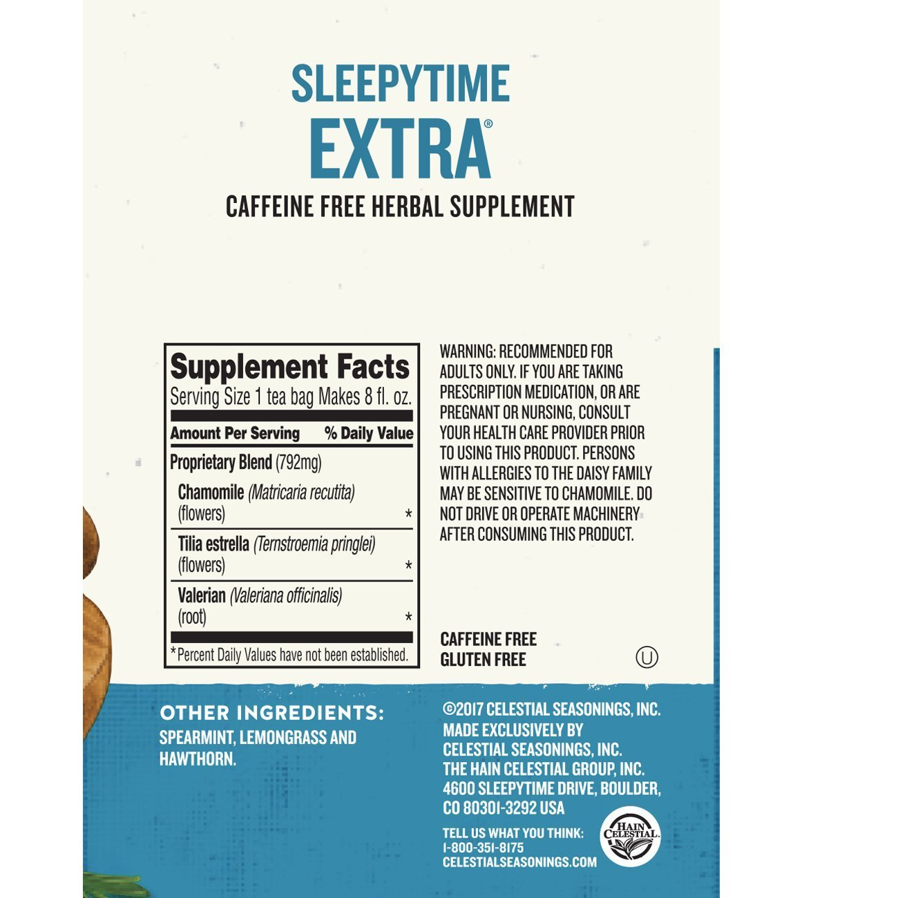 Celestial Seasonings Wellness Tea, Sleepytime Extra, 40 Count (Pack of 6) by Celestial Seasonings (Image #7)