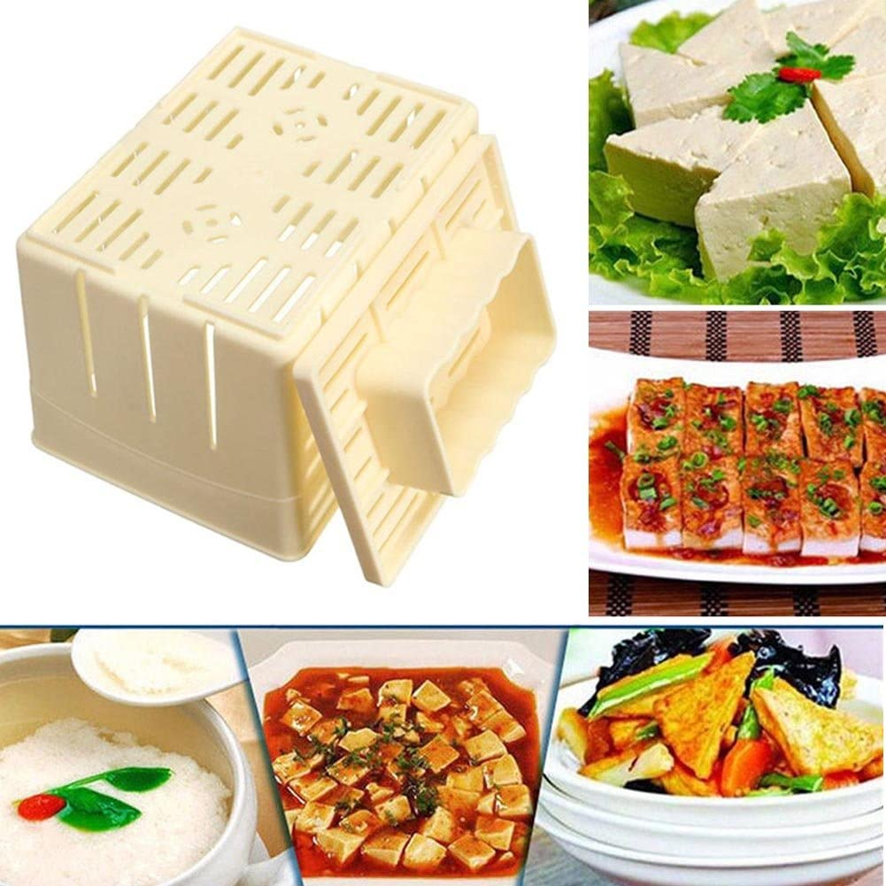 Passoires Et Passe Bouillons Nanad Moule A Tofu Maker Moule A Tofu Fait Maison Boite De Moules En Pp Pour Fabrication De Soja Caille Kit De Machine A Faire Soi Meme Moule A Presser