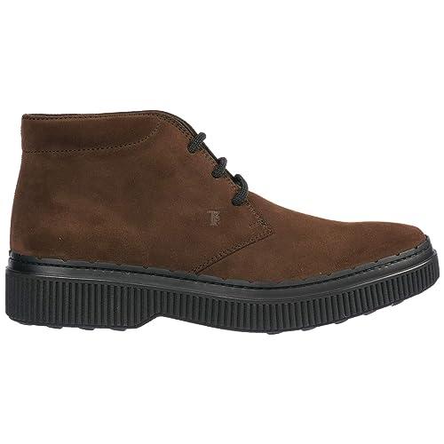 84f092847b4 Tod s Botines Zapatos en Ante Hombres marrón  Amazon.es  Zapatos y ...