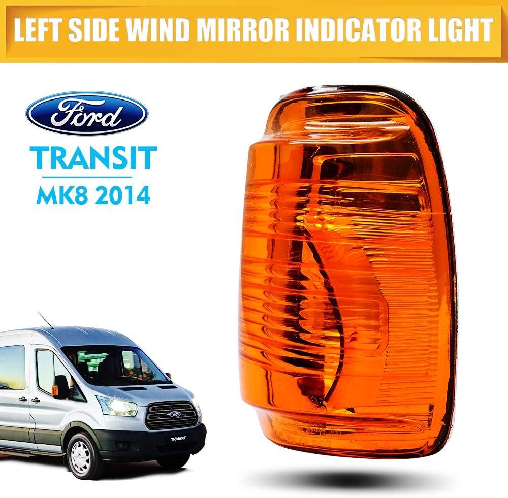 Maso Right Wing Mirror Kontrollleuchte Linse Blinker Für Ford Transit Mk8 2014 Auto