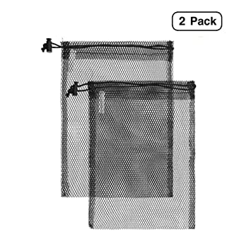Amazon.com: Bolsas de lino y bolsas de malla de nailon para ...