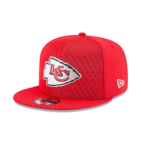 45f78cf36 Image Unavailable. Image not available for. Color  NEW ERA NFL KANSAS CITY  CHIEFS 950 RUSH 2017 SIDELINE CAP