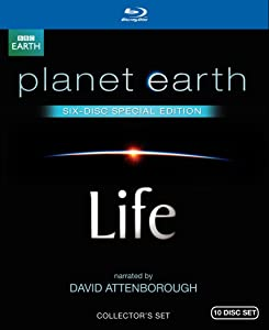 Life / Planet Earth: Special Edition (Both Narrated by David Attenborough) [Blu-ray]