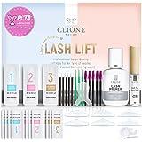 Clione Prime Lash Lift Kit - 38 Pcs Eyelash Lift Kit, 5 Times Use Eyelash Perm Kit, Suitable for Salon & Home Use - Professio