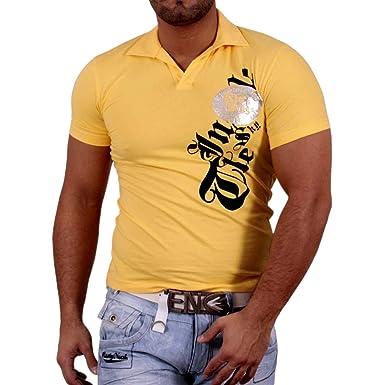 Rusty Neal manga corta – Camiseta de Longsleeve Polo Style Polo de ...