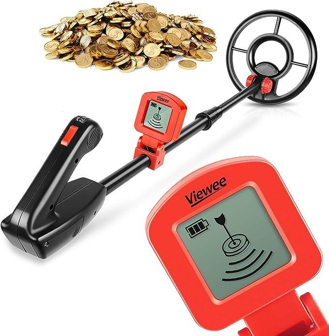 Viewee Lightweight Metal Detector - Best Lightweight Detector