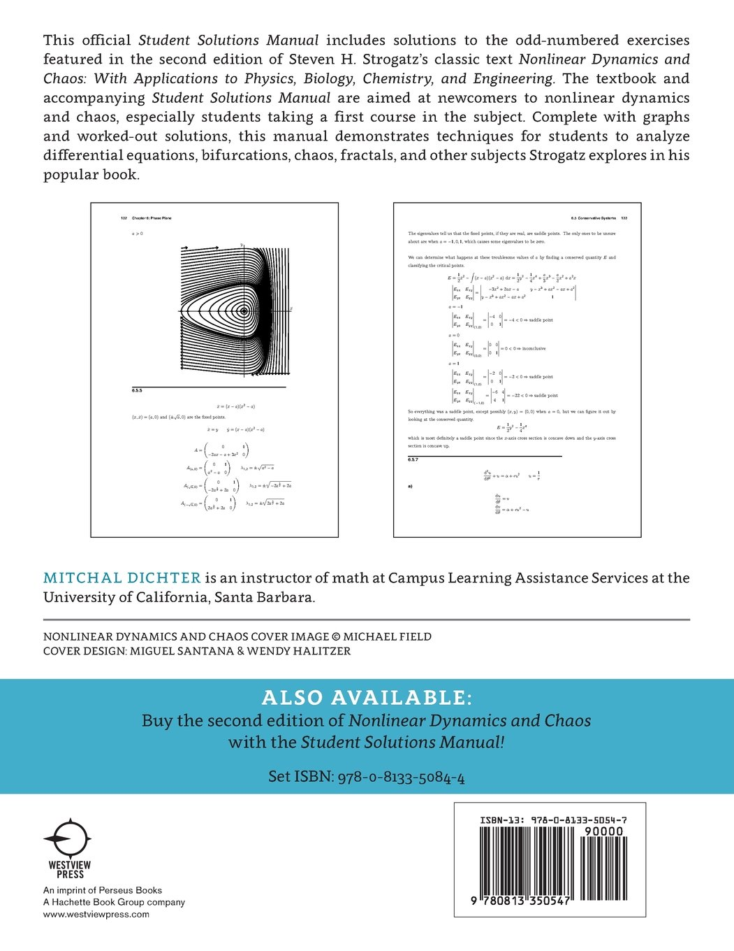 Buy Student Solutions Manual for Nonlinear Dynamics and Chaos, 2nd edition:  Volume 2 Book Online at Low Prices in India   Student Solutions Manual for  ...