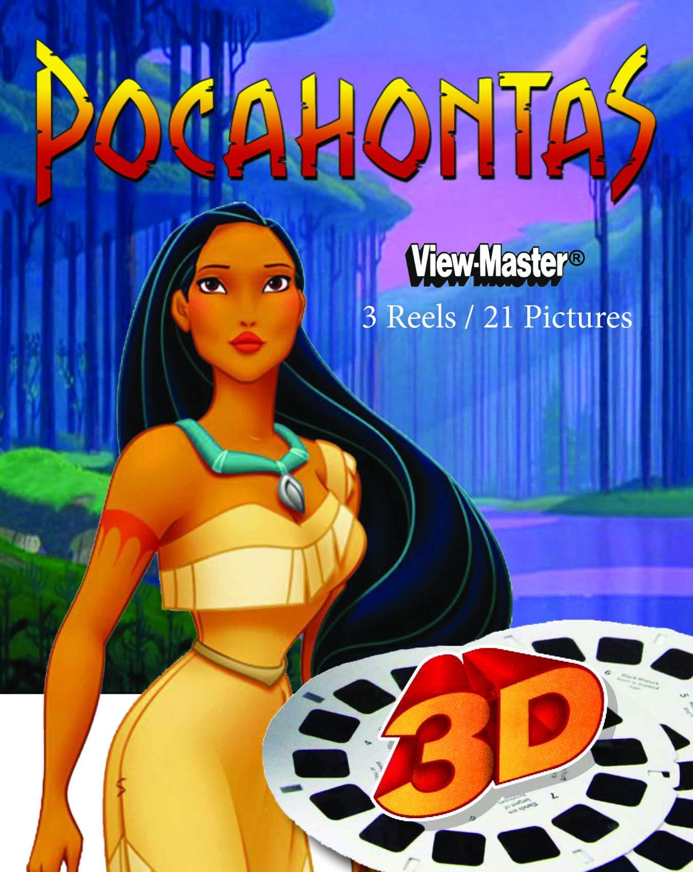 ViewMaster Disney Pocahontas 3D Reels