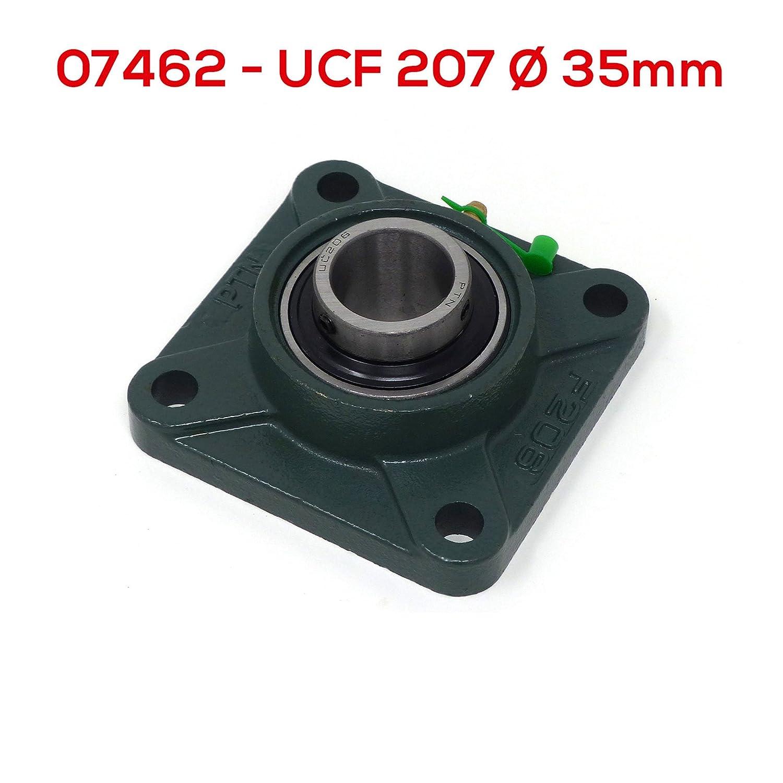 Supporto a Flangia con Cuscinetto UCF 207 /Ø Diametro 35mm UCF207
