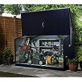 Trimetals Gerätebox, Aufbewahrungsbox, Multifunktionsbox, Fahrradbox Storeguard Anthrazit; 196x89x113cm (LxBxH) // Wasserdichte Multibox