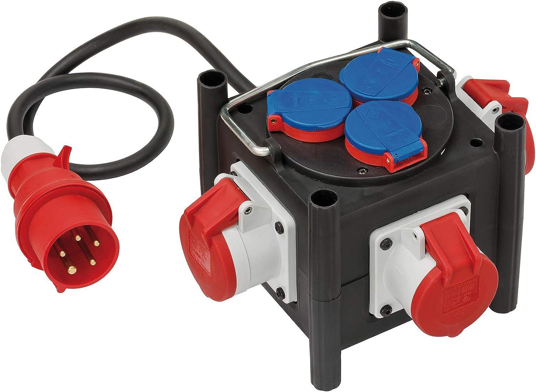 Brennenstuhl Distributeur de Courant Compact en Caoutchouc 1153680100