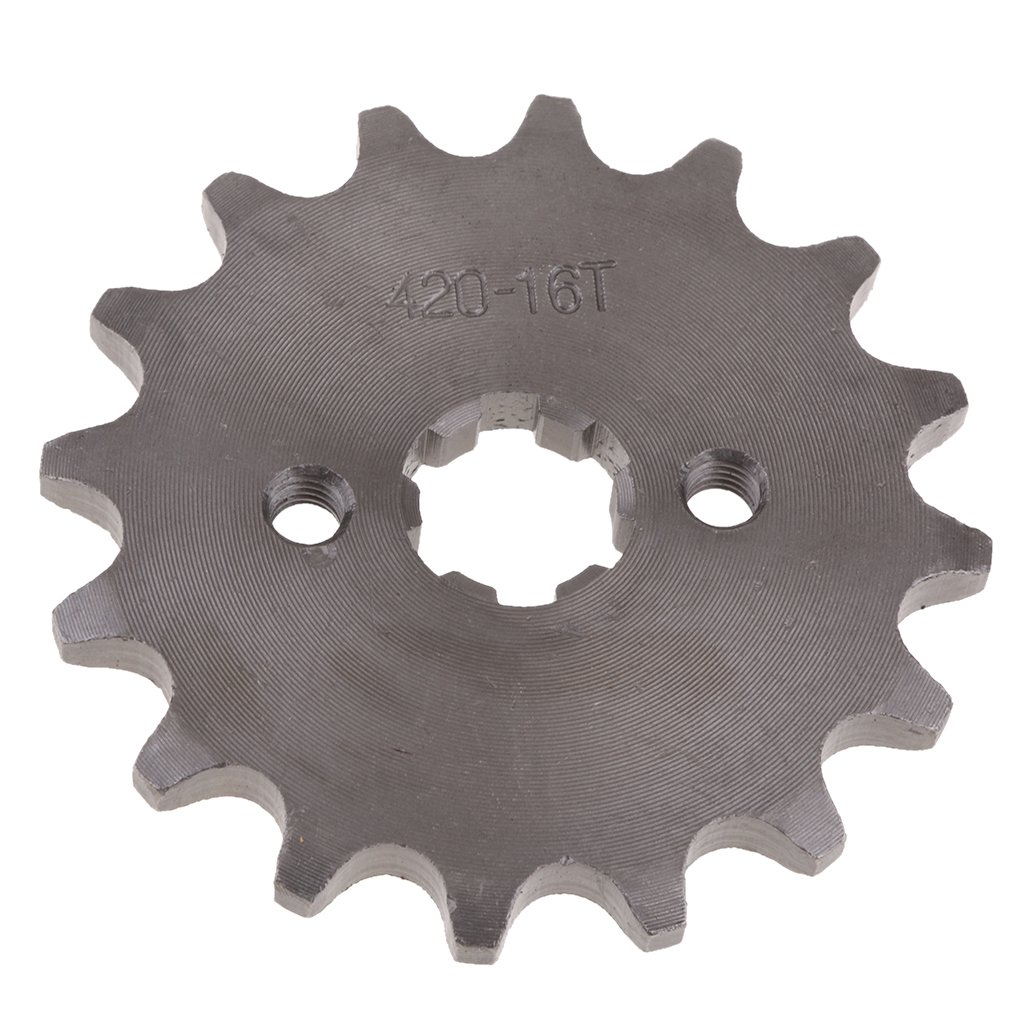 Negro 420-11T-17mm Baoblaze Pi/ñ/ón Motor Delanteros Dientes para SDG 110cc 125cc Bicicleta ATV
