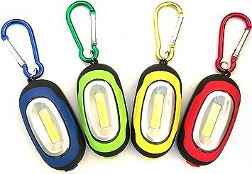 Mini Taschenlampe Schlüsselanhänger Karabiner Taschenlampe Helles Licht LEDNEU