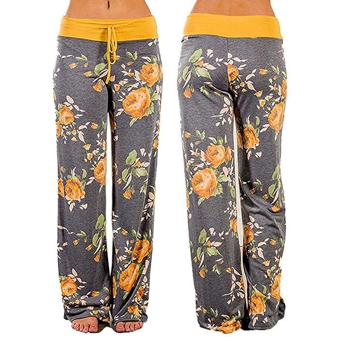 Amazon.com: Mallas de cintura alta para mujer, pantalones de ...