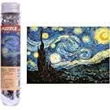 EA-STONE Thick Paper Jigsaw Puzzle, Beneath Van Gogh's Starry Sky Jigsaw Puzzle Kids Children Adult Educational Toy,150 Pieces