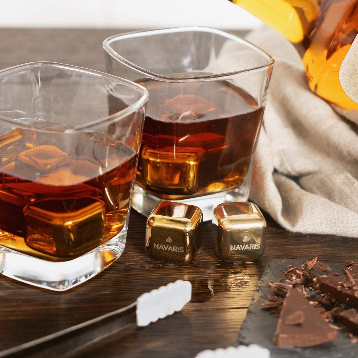 Compra Navaris 4x cubos enfriadores para whisky - piedras ...