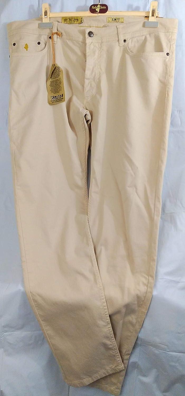 W40l34 Marlboro Pantalones Beige Nuevo Classics Mcs Hombre bfgYv76y