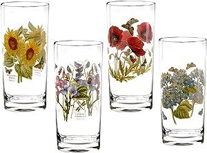 Portmeirion Botanic Garden Set of 4 Highball Glasses