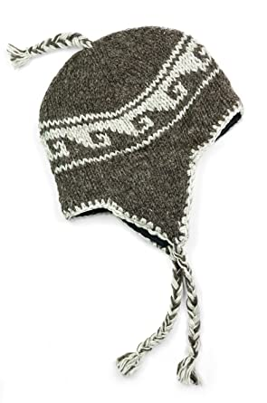 TCG Women s Hand Knit Wool Sherpa Hat at Amazon Women s Clothing store  83a84f231a05