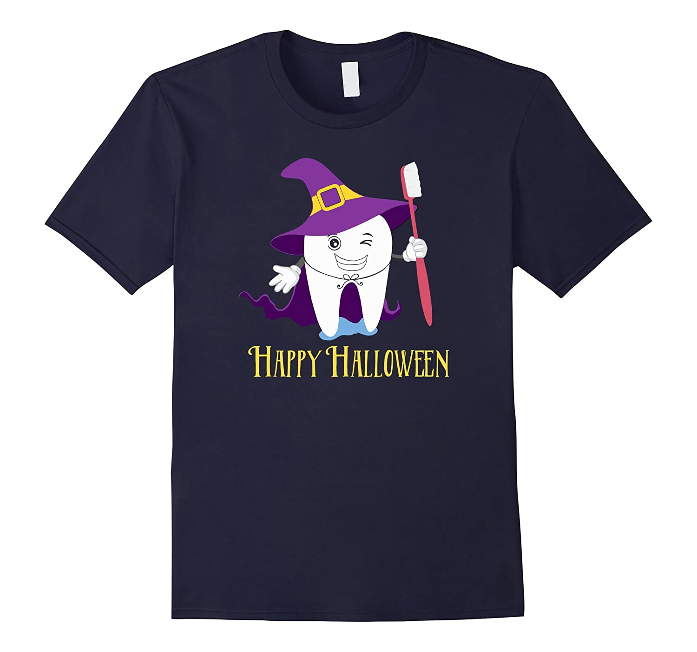 Halloween Costume for Dental Assistant or Dentist T-Shirt-FL