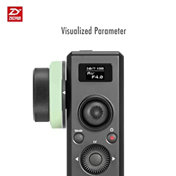 Zhiyun Crane 2 Control remoto inalámbrico del sensor de movimiento con foco de seguimiento y batería incorporada para Zhiyun Crane 2 Gimbal estabilizador de ...