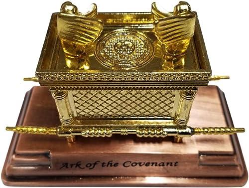 Bethlehem Gifts TM Large Ark of The Covenant on Copper Base