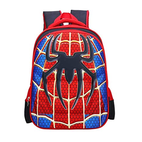 59aebd386356 Children School Backpacks for Boys Spider Man Lightweight Students Bag for  5-12 Years Old