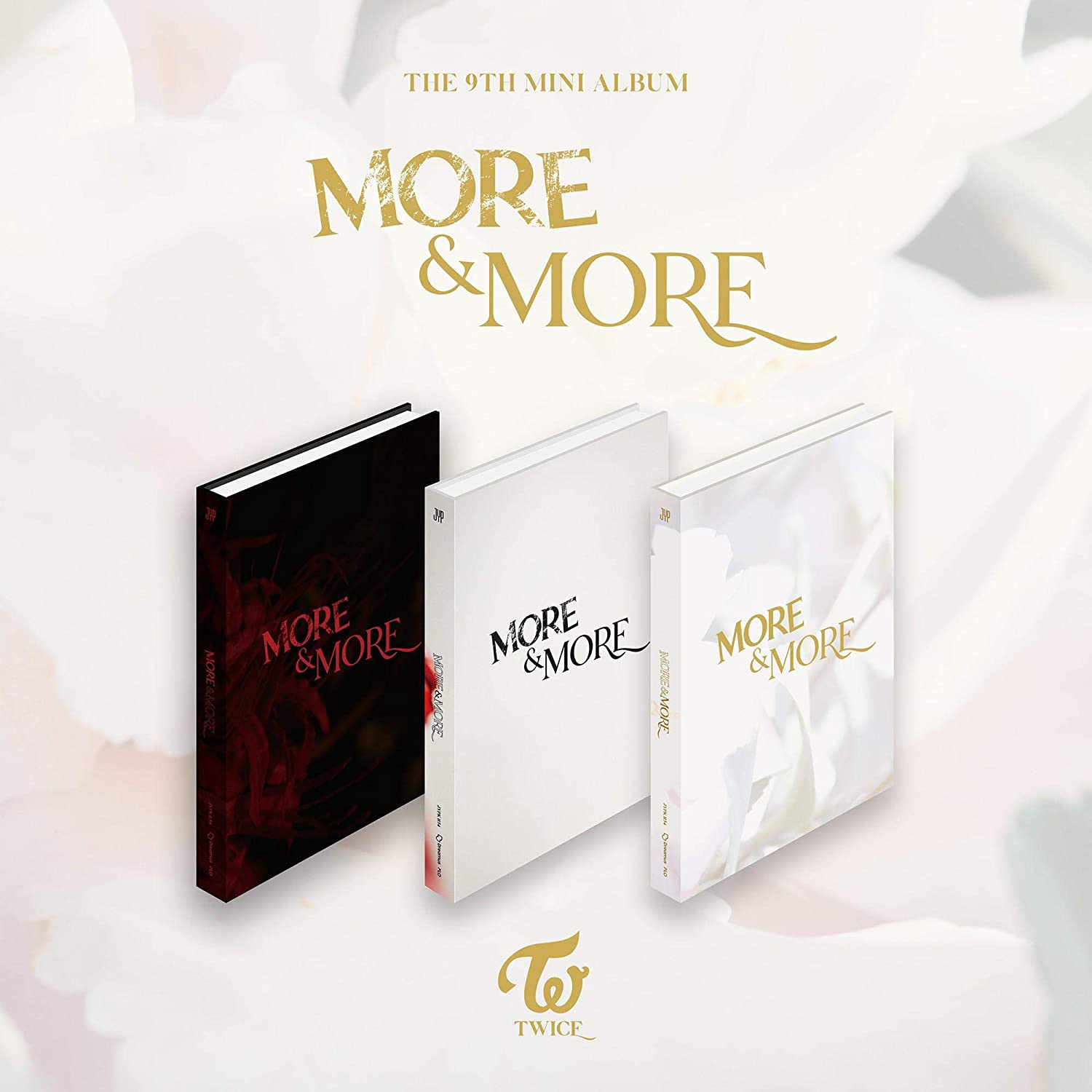 Twice More and More 9th Mini Album (Incl. Pre-order Benefits : Poster, Photocard Set, Seller Gift : One Random Acrylic...