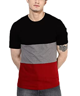 STYLENSE Weirdo Men's Cotton T-shirt (Black, Small)