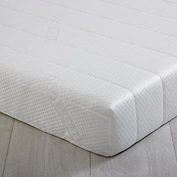 De espuma 2 Go - 91,44 cm para cama individual 15 cm - colchón viscoelástico para cama ...