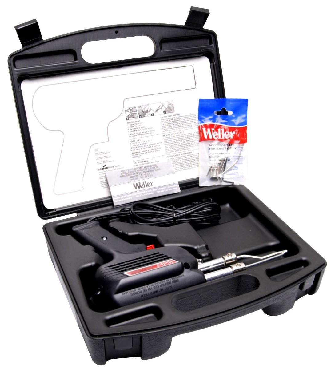 2 Pack Weller D550PK 120-Volt Professional Soldering Gun Kit - 260/200 Watts