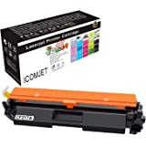 ICOMJET Compatible Toner Cartridge Replacement for HP 17A CF217A to use with Hp Laserjet Pro M102w M130fw Laserjet Pro MFP M130fw M130nw M130fn M130a (1* BLACK)