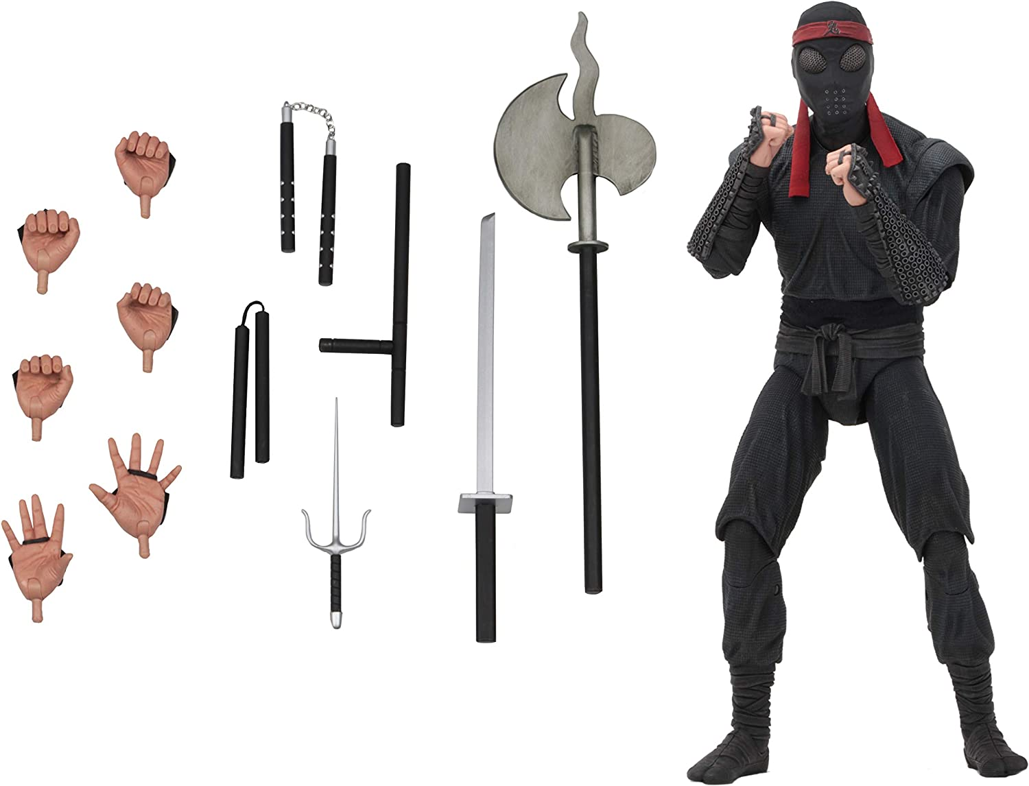 NECA - TMNT (1990) - 1/4 Scale Action Figure - Foot Clan Soldier