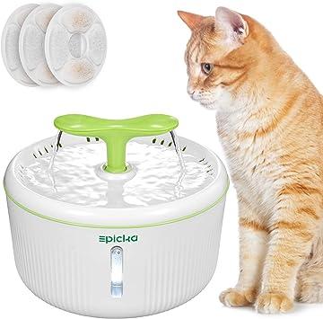 Amazon.com: Fuente de agua EPICKA Sprout para mascotas ...