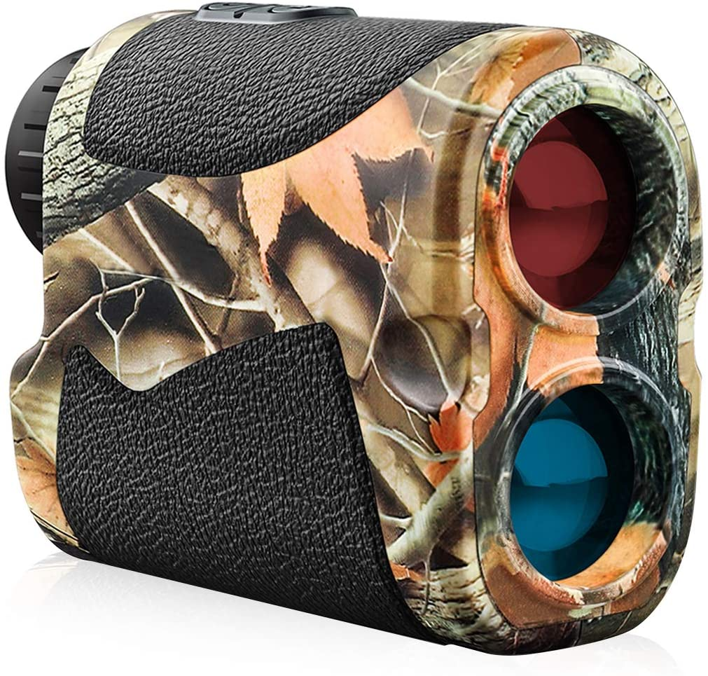 Wosports Hunting Range Finder, 700 Yards Archery Laser Rangefinder for Bow Hunting with Flagpole Lock - Ranging - Speed and Scan : Sports & Outdoors