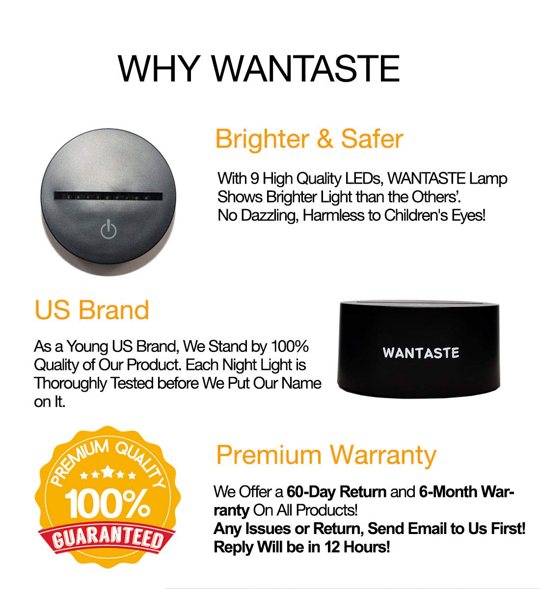 WANTASTE 3D Pig Lamp, Optical Illusion Night Light for Room Decor & Nursery, Cool Birthday Gifts & 7 Color Changing Toys for Girls & Boys