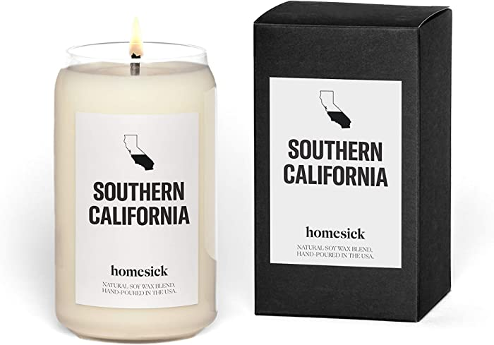 Homesick Scented Candle, Southern California (2020 Version)