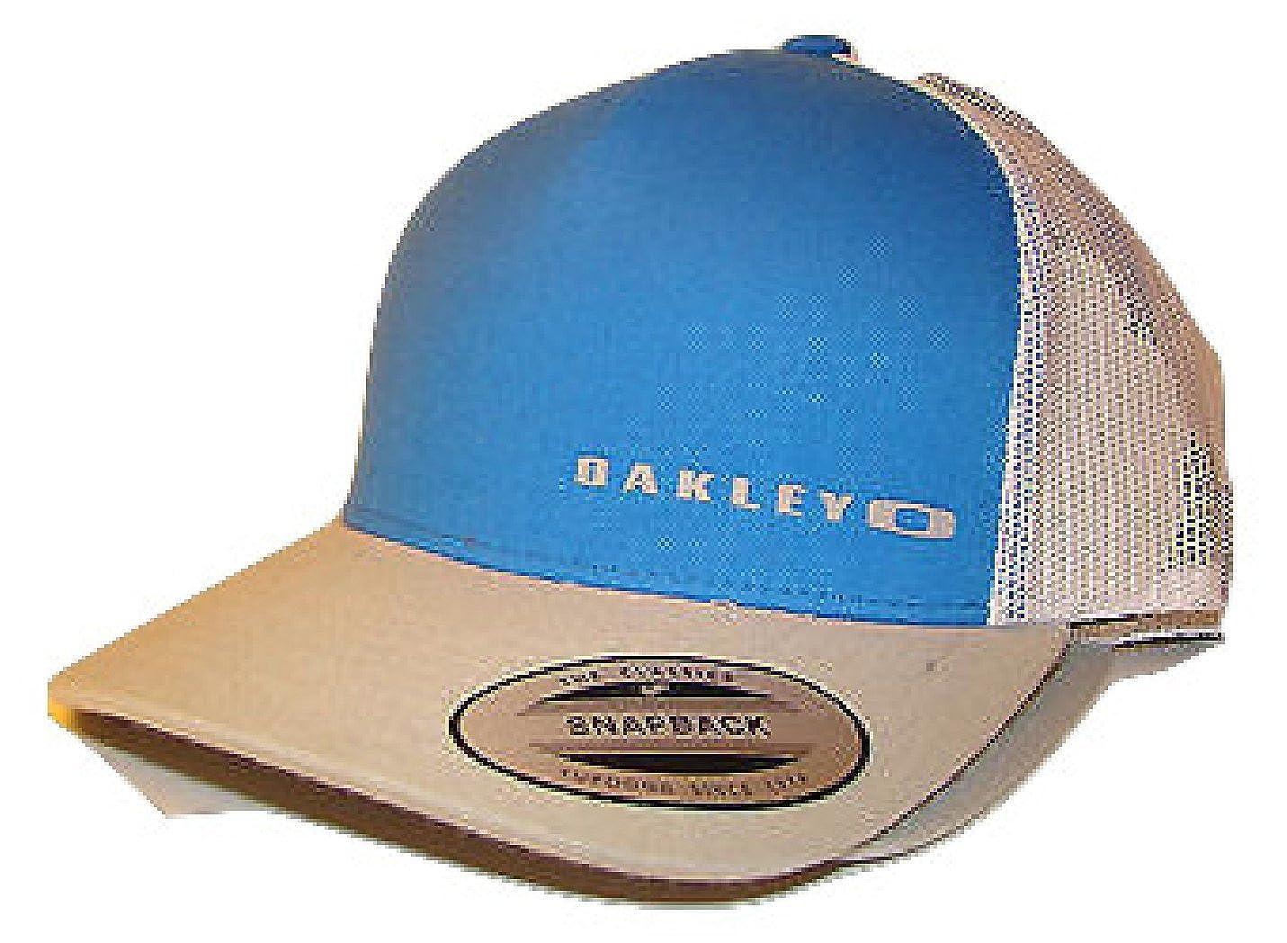 b6922ed69af17 ... inexpensive oakley mens halifax mesh adjustable snapback trucker hat  cap electric blue at amazon mens clothing