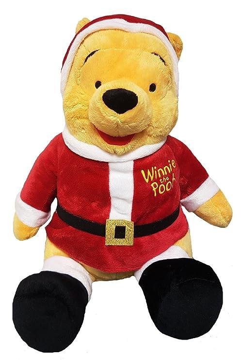 Peluche Winnie The Pooh Babbo Natale 35 Cm Disney Cartoni Animati